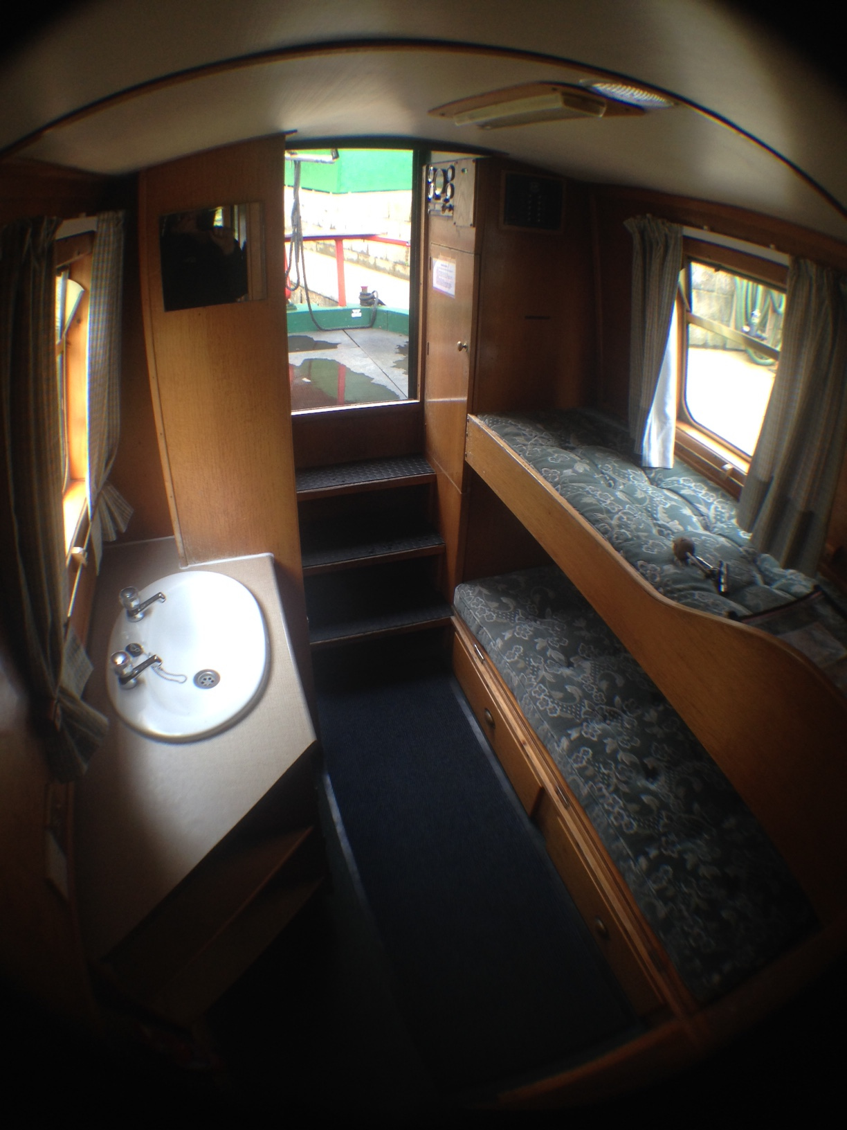 Hazel Rear Cabin looking towards the stern