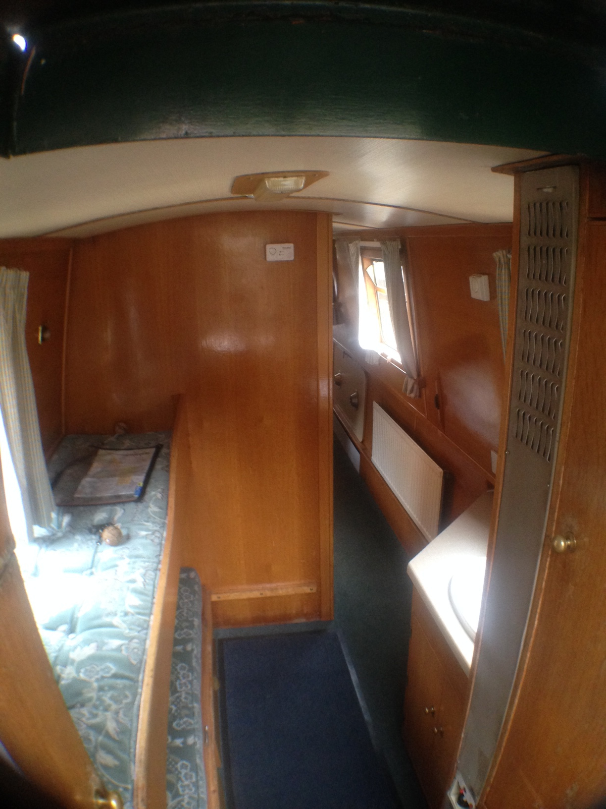 Hazel Rear Cabin looking towards the bow